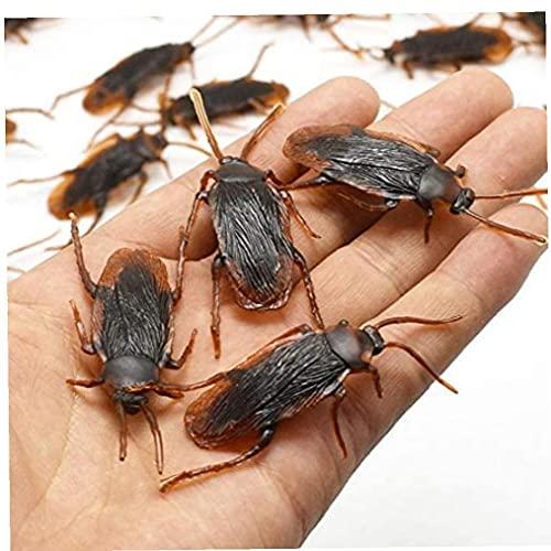 5pcs Falso Juguete De La Simulación De La Cucaracha del Lagarto Ciempiés Escorpiones Juguetes Truco para La Decoración De Halloween Partido del Día De Los Inocentes