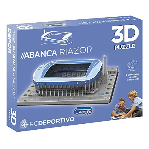 ELEVEN FORCE Puzzle Estadio 3D Riazor (Deportivo), Multicolo
