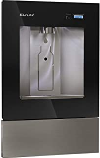 Elkay LBWD00BKC ezH2O Liv Built-in Filtered Water Dispenser, Non-refrigerated, Midnight