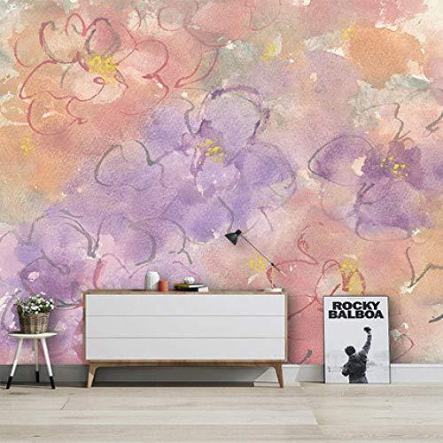 Papel Pintado Nórdico Pintado A Mano De Arte Abstracto Graffiti Dormitorio Sala De Estar Tv Fondo Pared Mural Personalizado
