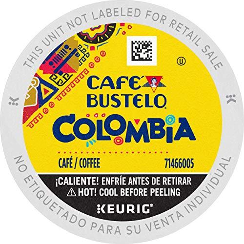 Café Bustelo 100% Colombian Medium Roast Coffee, 72 Keurig K-Cup Pods