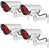 WALI Bullet Dummy Fake Surveillance Security CCTV Dome Camera