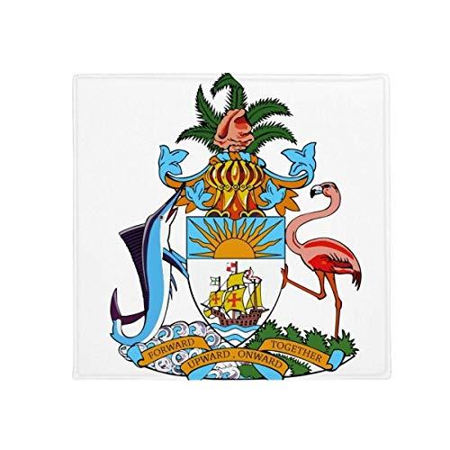 DIYthinker Nassau Bahamas nationaal embleem anti-slip vloer huisdier mat vierkante huis keuken deur 80cm gift