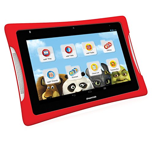 Nabi DreamTab HD8 (2 Go-Tablette 16GB MicroSD TransFlash 32GB) ( (20,32 cm 8' 1920 x 1200 Pixels)) Rouge