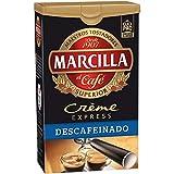Marcilla Café molido Crème Express descafeinado - 6 paquetes de 250 gr