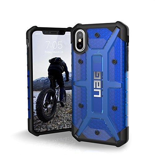 Urban Armor Gear Plasma per Apple iPhone Xs / X Custodia protettiva Cover con standard militare americano case [Compatibile con il Qi wireless] - blu