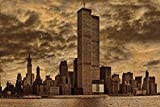 World Trade Center 1979 by Chris Lord Photo Photograph Cool Wall Decor Art Print Poster 36x24