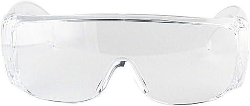 نظارات حماية من ماينستاي، نظارات صناعية مصقولة وشفافة، ادوات لحماية العين بكفاءة عالية، تهوية جانبية، لاعمال البناء والمعا...