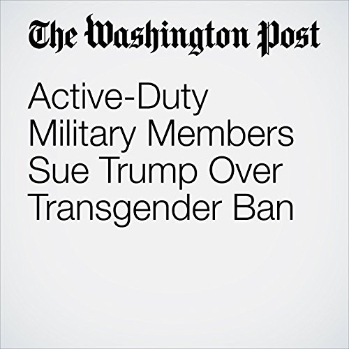 Active-Duty Military Members Sue Trump Over Transgender Ban copertina