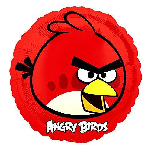 Amscan International Angry Birds Party Accessory (rot)