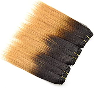 4pcs/lot 7a Cheap Wholesale Human Hair Brazilian Straight Hair Short length 8 inch Ombre Human Hair Products Quick shipping