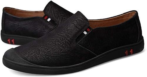 Fuxitoggo botas de Tobillo de Moda Casual para Hombre Zapaños de Trabaño con cinturón Resistente al Desgaste de Punta rojoonda (Color  Café cálido, Tamaño  43 UE) (Color   Warm Coffee, Tamaño   37 EU)