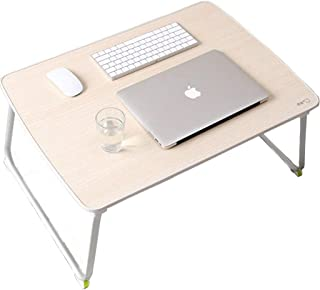 58cmx38cmx29cm BENCONO Folding Table Dormitory Laptop Study Desk Size Color : C