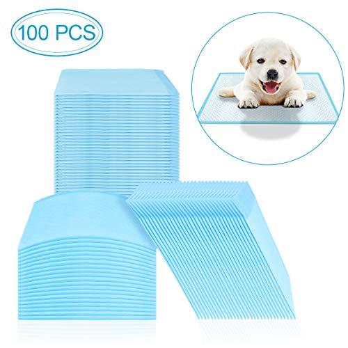 Makerfire Welpenunterlage Hygieneunterlagen für Haustiere Trainingsunterlagen Für Welpen Größe 33 x 45 cm 100 stück