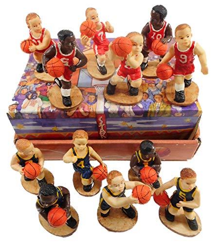 GG 1372 - Juego de 12 jugadores de baloncesto (6 cm)