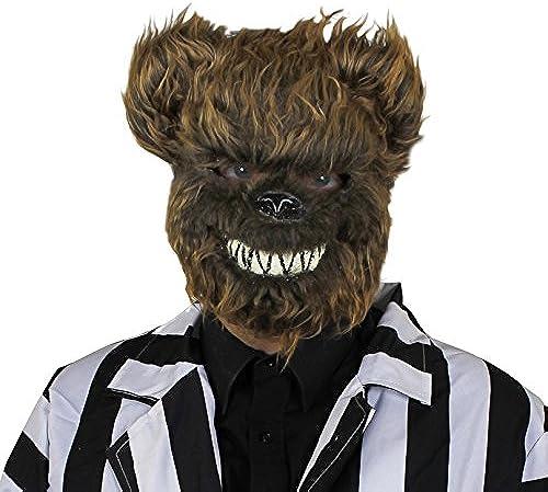 Erwachsene Braunb Halloween Maske - perfekt Zubeh für Größelig Kostüm - EinheitsGröße passend für die meisten - erh lich in mehrfach-pack Grün  1 Stück Paket aus 3 6er Pack mit 12 - X12