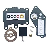 Carburador Carb Kit de reconstrucción for Johnson Evinrude Motor Fuera de borda 9,5 HP 1964-1973 382048 379154 BRP Juntas de Repuesto/OMC Kit de Motor