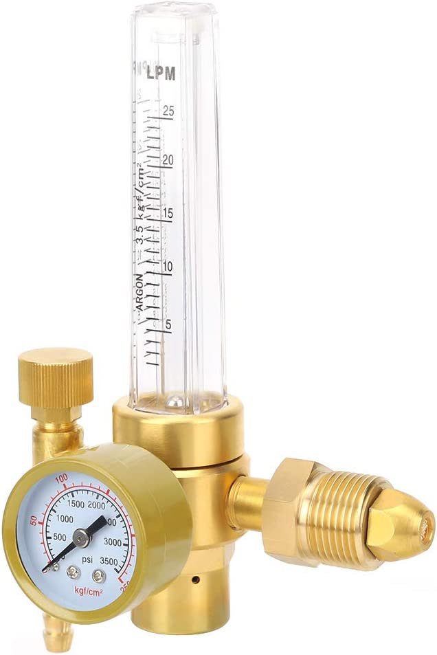 Argon Regulator Flowmeter Gas Easy 0-3500PSI To Cheap mail order specialty store Use f Nippon regular agency
