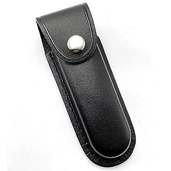 Aibote Lame Pliante Couteau étui de Chasse étui de Transport étui en Cuir Fourreau Sac pour Couteau Suisse Tactique Couteaux Pliables