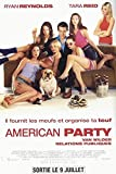 Party-American-Tara Reid 116 x 158 cm, Cinema