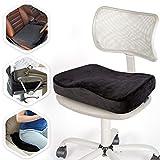 Aeris Memory Foam Seat Cushion for Office...