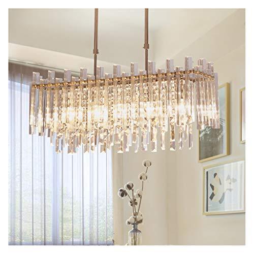 Kristall-Kronleuchter, modern minimalistisch oval Esszimmer Licht, kreative Persönlichkeit Schlafzimmerlicht, Jianou Studie Licht