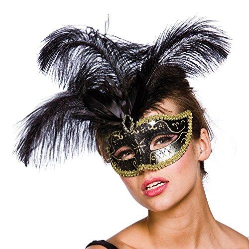 Vicenza Eyemask - Black / Gold