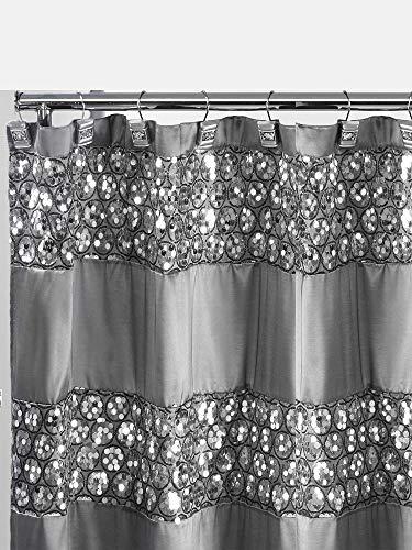 Popular Bath Silver Sinatra, Shower Curtain