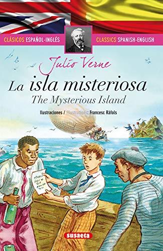 La isla misteriosa - español/inglés (Clásicos bilingües)