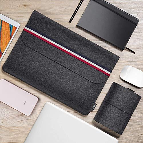 HOMIEE 15-15.4 Zoll Laptoptasche mit Extra Aufbewahrungsbox, Geeignet für ultradünne Computer, Wird hauptsächlich für das MacBook Air verwendet, Netbook, Tablet Hülle Ultrabook, stoßfest