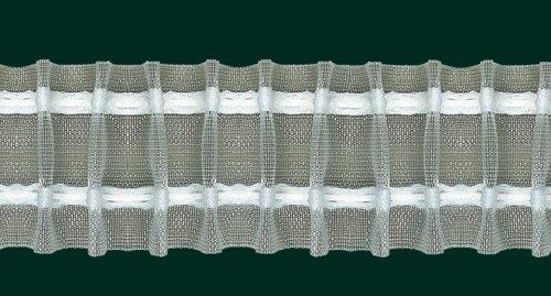 Ruther & Einenkel Bleistiftfalte, 50 mm, transparent, 250% / Aufmachung 10 m