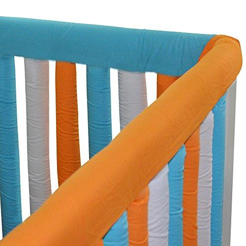 La mejor comparación de Protectores para cunas y camas de bebé para comprar hoy. 12