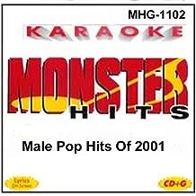 Monster Hits Karaoke 1102 - Male Pop Hits Of 2001