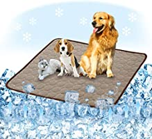 Summer Cooling Mat for Dogs Cats Self Dog Cooling Mat Breathable Pet Crate Pad Portable & Washable Pet Cooling Blanket...
