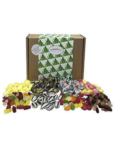 Sugar Free Sweet Hamper - 8 Bags Of Sugar Free Sweets Suitable For A Diabetic Diet - Hamper Exclusive To Burmont's