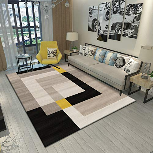 Nordic Minimalist Modern Thickened Floor Mat Geometric Home Coffee Table Carpet Living Room Bedroom Hotel Party Office Carpet
