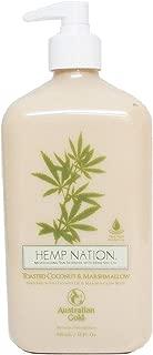 Hemp Nation Toasted Coconut & Marshmallow Moisturizer 18 Oz