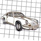 限定 レア ピンバッジ 白色ポルシェ車 ピンズ フランス 293668