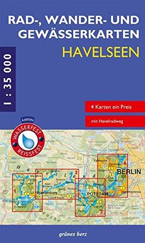 Rad-, Wander- und Gewässerkarten-Set: Havelseen: Mit den Karten: