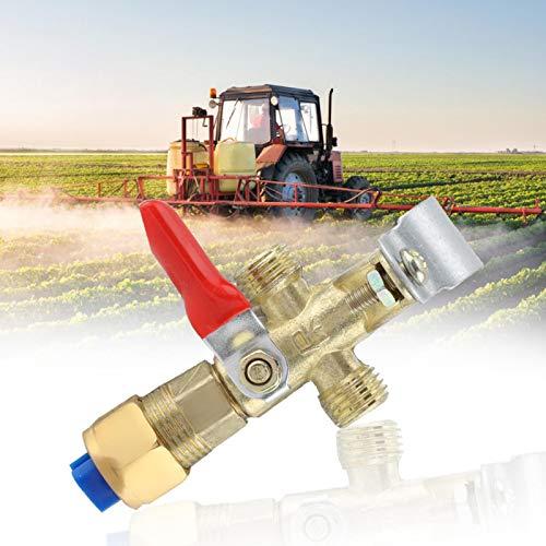 Boquilla agrícola, pulverizador de pesticidas con Boquilla modificada para Tractor Grande, Boquilla de Taller de Plantas de Alta presión de 8,5 cm / 3,3 Pulgadas para la Industria de riego