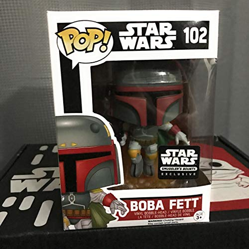 Funko POP Star Wars: Boba Fett Action Figure Exclusive Smugglers Bounty by FunKo