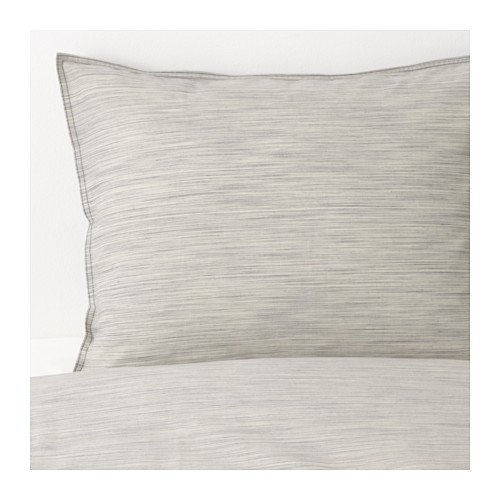 IKEA Full/Queen (Double/Queen) Size Duvet Cover and Pillowcases, Beige 1628.112314.3422