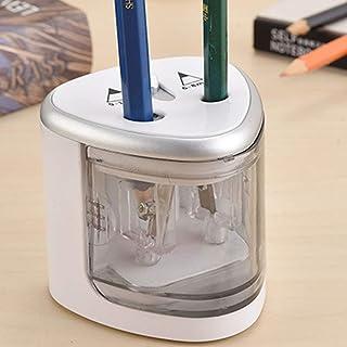 Bianco e rosa HS914 Creative Home Office School Desktop temperamatite elettrico Cancelleria automatica Accessori temperamatite