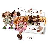 Teorema Giocattoli Camilla Vintage Bambola, 3 Modelli, 30 cm