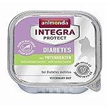 animonda Integra Protect Diabetes mit Putenherzen | 16x 100g