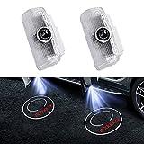 XIAOQIAO Compatible con Infiniti Q50 Q60 Q70 QX50 QX56 QX70 QX80 FX37 Logotipo de automóvil Proyector láser Bienvenido Fantasma Luces Luz de Puerta inalámbrica