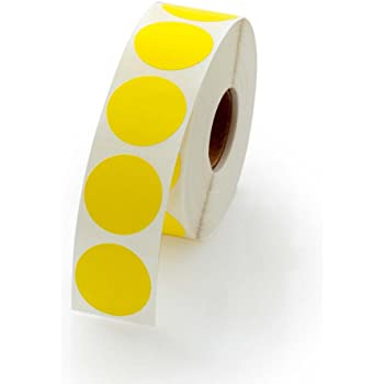 Blick Colored Round Adhesive Dots Labels Stickers Labeling