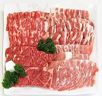 【肉のひぐち】 飛騨牛 & 国産 豚肉 バーベキューセット 1kg 4〜5人分 牛肉 牛カルビ 牛もも・かた 豚肉 豚バラ 豚ロース セット BBQ キャンプ おうち焼肉 に 。 冷凍でお届け致します