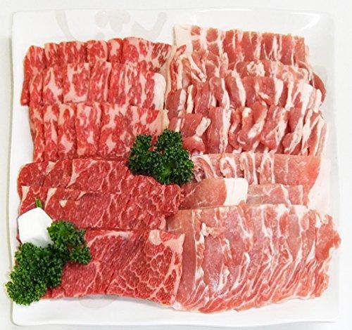 肉のひぐち 飛騨牛&国産豚肉入バーベキューセット1kg 4~5人分 冷凍