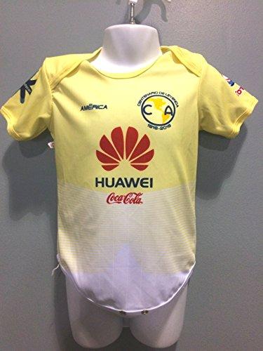 V1 Clothing CO America Pumas Chivas Mexico Tigres Monterrey Leones Negros Oneseis Baby/Toddler Jersey Liga MX (America)